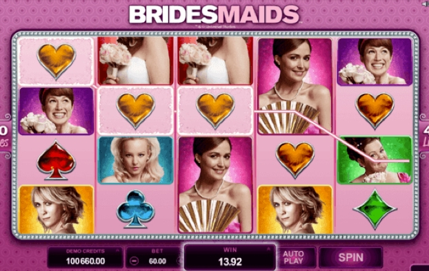 betway - Bridesmaids Slot