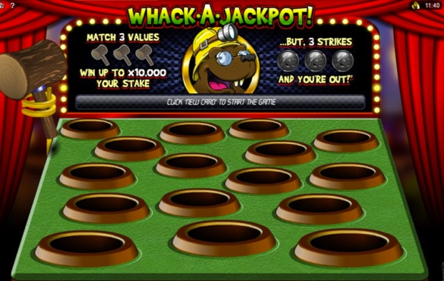 lucky-nugget - Whack a Jackpot