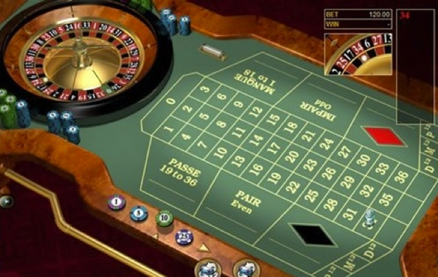 spin-palace - Roulette Table View